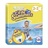 HUGGIES Maxi Pack x20 Little Swimmers T2/3