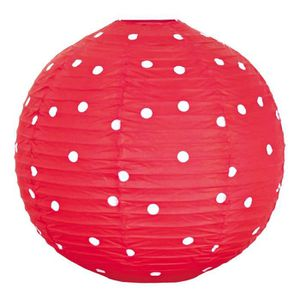 LUSTRE ET SUSPENSION Suspension ronde luminaire lustre boule rouge poin