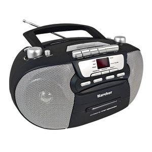 RADIO CD CASSETTE Karcher RR 5040 Oberon Radio-Lecteur CD Portable (