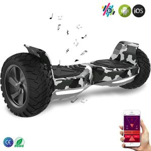 ACCESSOIRES GYROPODE - HOVERBOARD EverCross Overboard Camouflage Scooter 2 Roues 8.5