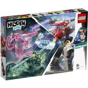 ASSEMBLAGE CONSTRUCTION LEGO® Hidden Side™ 70421 Le quad chasseur de fantô