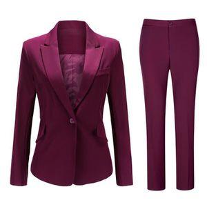 COSTUME - TAILLEUR Costume femme 2 pieces epouse les formes  (veste p
