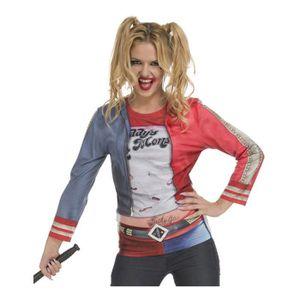 T-SHIRT Déguisement T-Shirt Harley Quinn pour femme