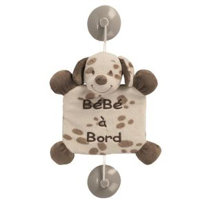 BÉBÉ À BORD  NATTOU Bébé à bord Max Le chien