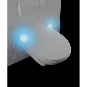 Lunette Abattant Waterhose Si/ège de Toilette avec Rabat /à Amortisseur WC Couvercle Deuba Cuvette