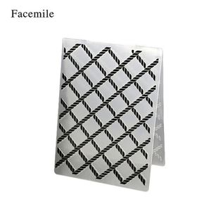 MOULE  1Pcs Cadre Décoratif Gaufrage Dossier Modèle Plast