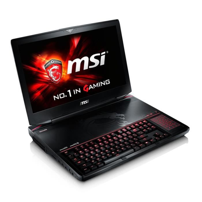msi pc portable gamer gt80 2qe titan sli 421fr prix pas. Black Bedroom Furniture Sets. Home Design Ideas