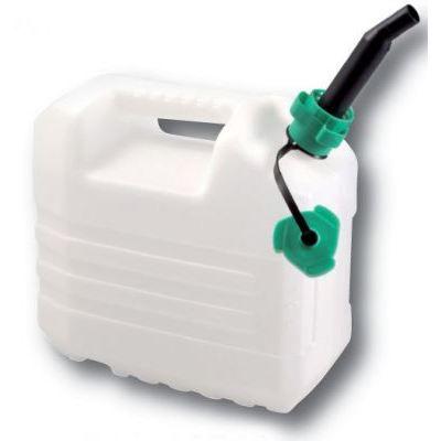 Jerrican 10 litres avec bec verseur qualite alimen