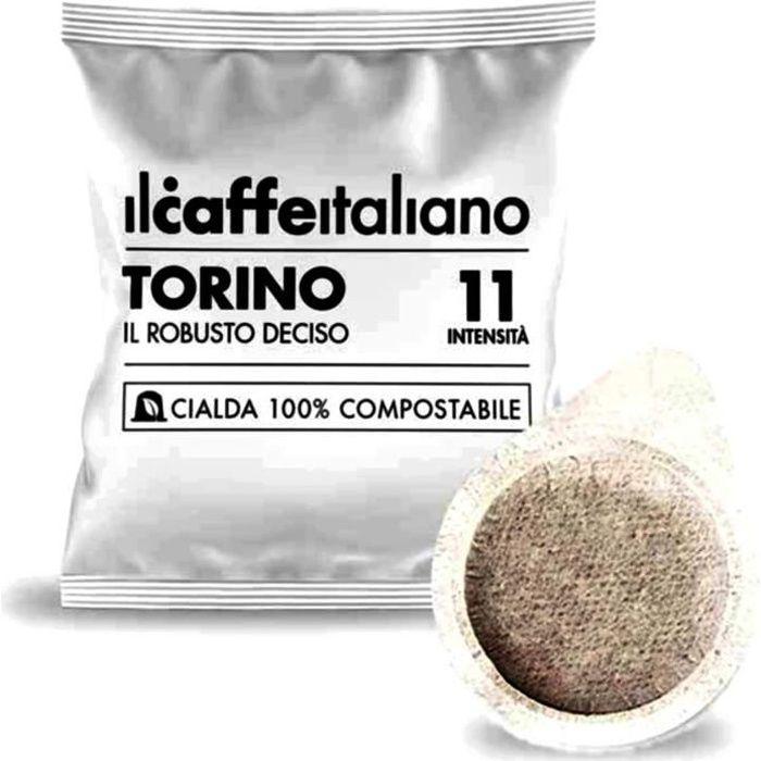 150 dosettes de café compostables - Mélange Torino intensité 11 - Il Caffè Italiano
