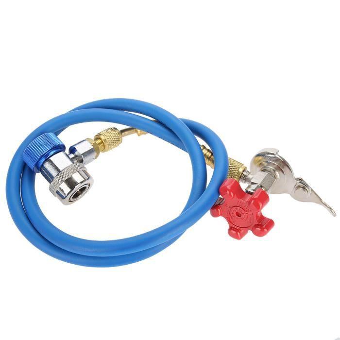Tuyau de Recharge de réfrigérant R134a, tuyau de raccord de gaz peut tarauder pour réfrigérant R502 R-12 R-22