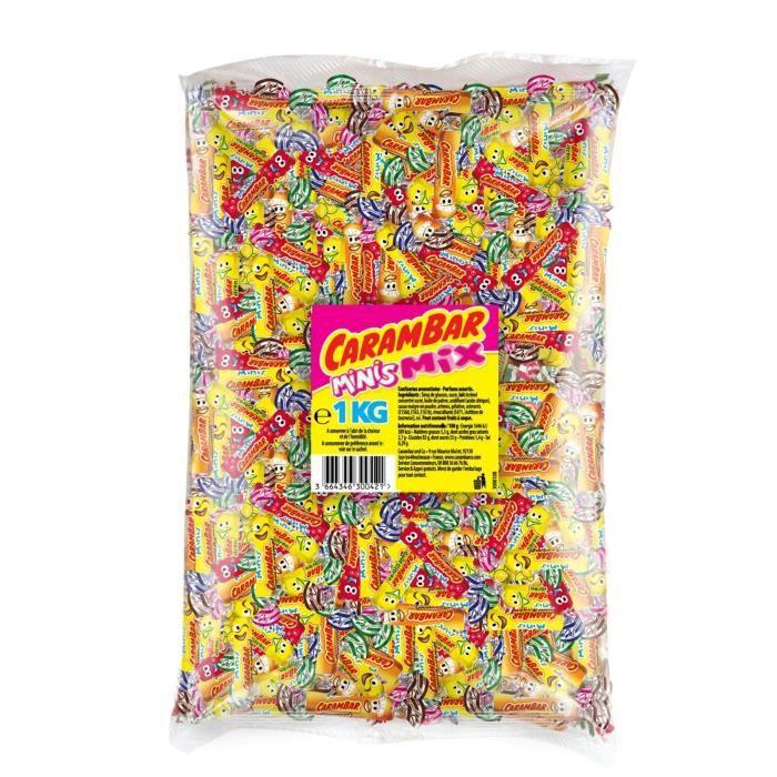 CARAMBAR Bonbons Mini Mix - 1 kg