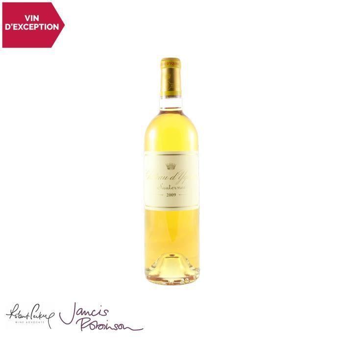 Château d'Yquem Blanc 2009 - 75cl - Appellation AOC AOC Sauternes - Vin Doux Blanc de Bordeaux - 17-20 Jancis Robinson - Cépages