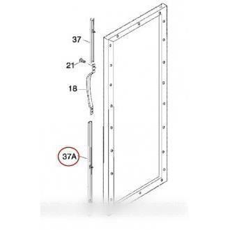 Listeau poignee blanc inferieure pour réfrigérateur ELECTROLUX - BVMPIECES
