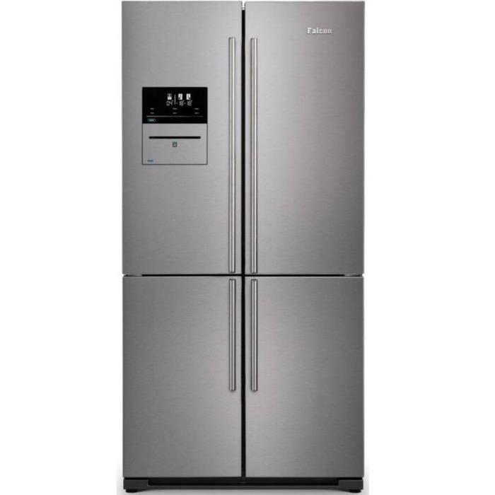 falcon - réfrigérateur américain 91cm 556l a+ nofrost inox - fsxs19ssc