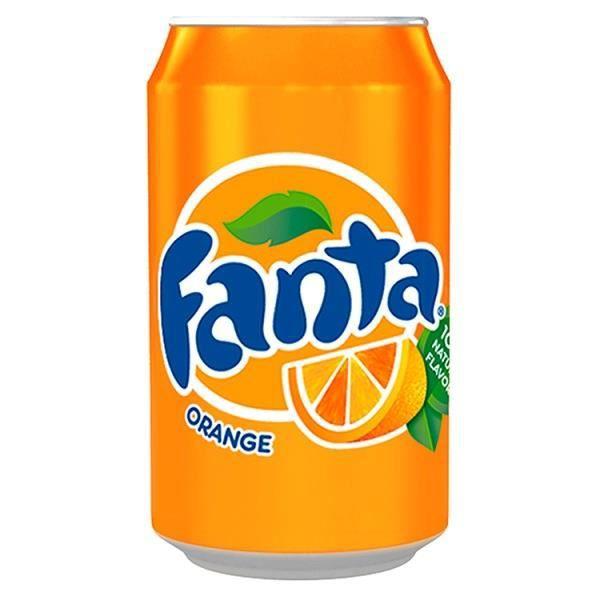 Fanta Orange 330ml (Pack de 24 x 330ml)