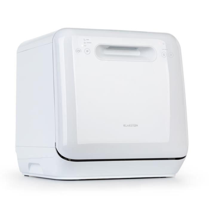 Klarstein Aquatica lave-vaisselle sans installation - 3 programmes - panneau de commande - 860W - blanc