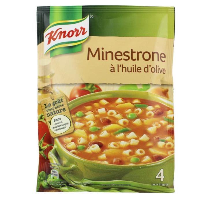Potage Minestrone à l'huile d'olive - 104 g
