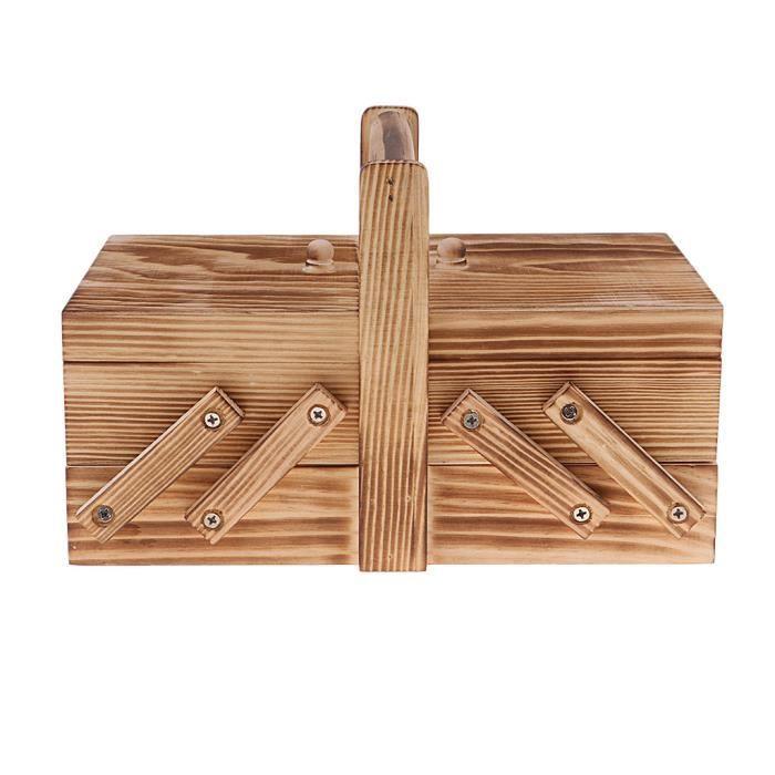ACCESSOIRES REPASSAGE - COUTURE - PIECES REPASSAGE - COUTURE 1 boîte de rangement extensible pour matériel de couture