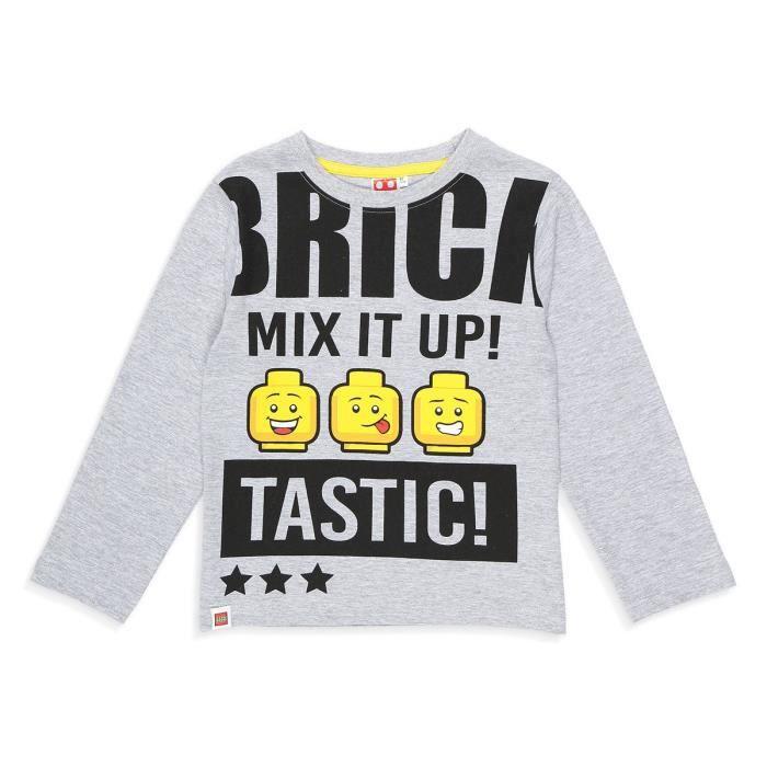 LEGO T-shirt Fantaisie Gris Clair Enfant Garçon