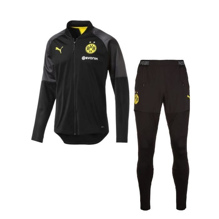 PUMA ENSEMBLE TRAINING STADIUM NEWS DORTMUND TOP NOIR ADULTE 2019