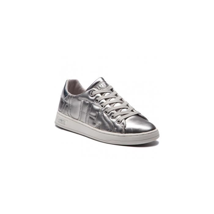 Guess Baskets Femme CESTIN Silver - Taille - 41 EU