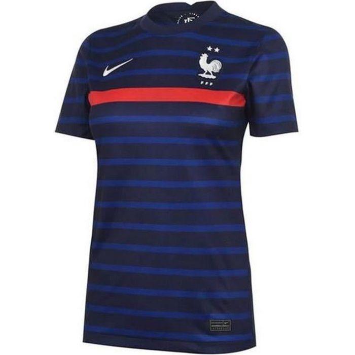 Nouveau Maillot Officiel de Football Femme Nike France Domicile Euro 2020