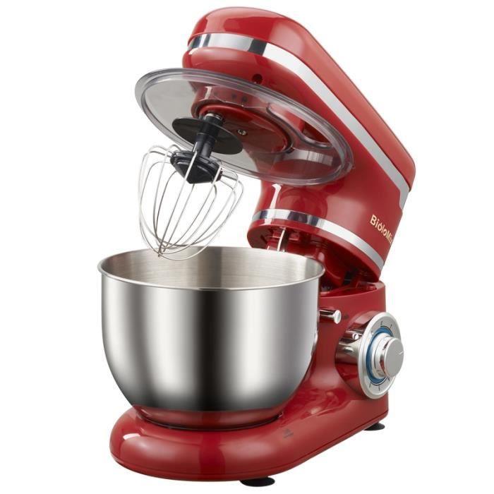 1200W 4L acier inoxydable bol 6 vitesses cuisine support alimentaire mélangeur crème oeuf fouet mélangeur gâteau pâte pain mélangeur