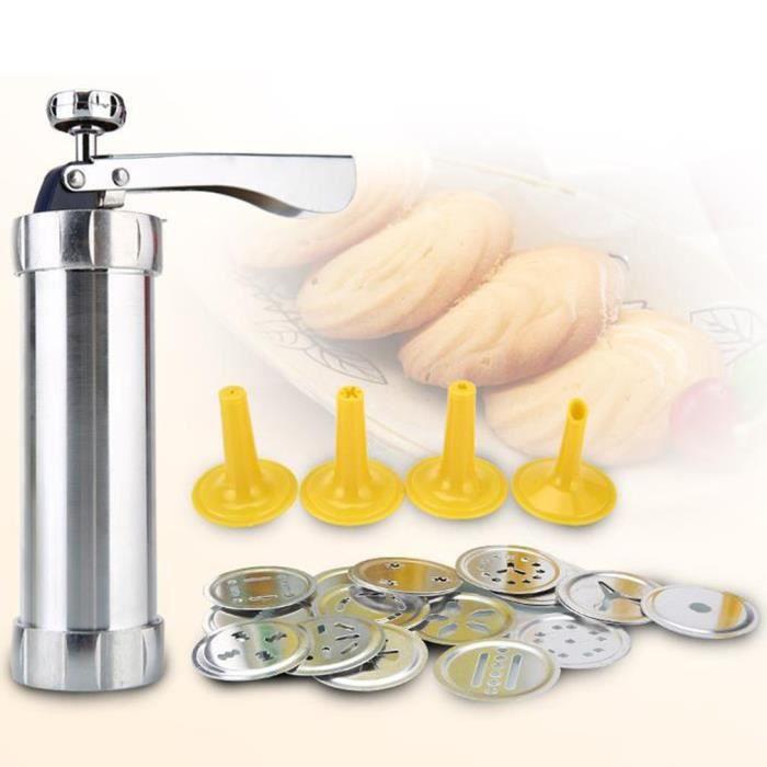 Pistolet à moule à biscuits au beurre, machine à biscuits, outils de cuisson de cuisine