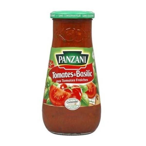 PANZANI Sauce Saveur Tomates Basilic 600g (x1)