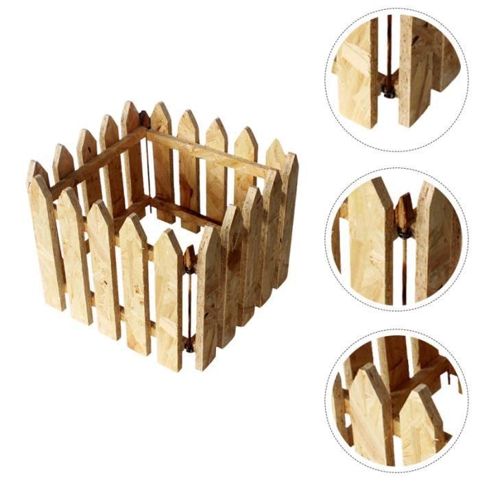 1 pc clôture pour animaux de compagnie jouet pour de pour de abri en bois pour de pour reptile tortue de   ENCLOS - CHENIL