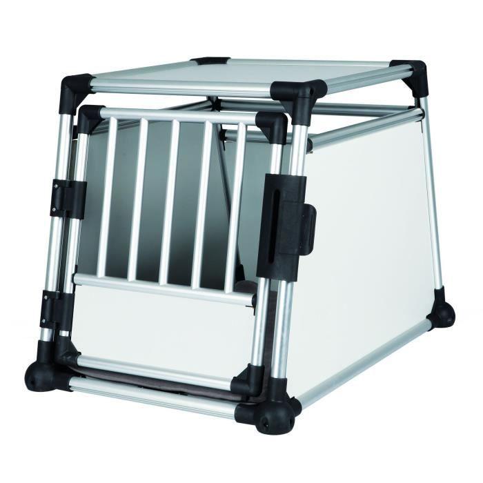 TRIXIE Box de transport, aluminium pour chien