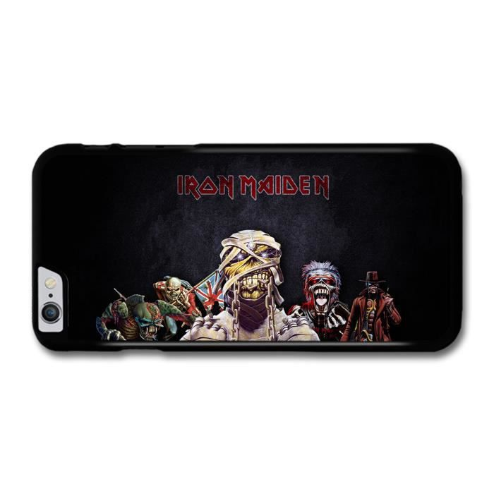 Iron Maiden Logo Monsters coque pour iPhone 6 Plus - Cdiscount ...