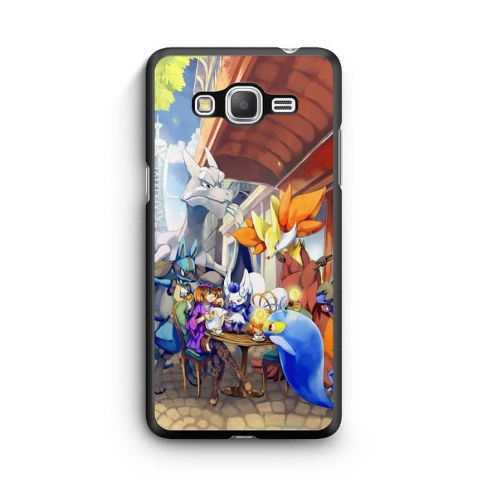 Coque Samsung Galaxy Grand Prime Pokemon go team pokedex Pikachu ...