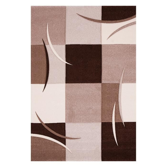 tapis design pour salon beige sweet achat vente tapis cdiscount. Black Bedroom Furniture Sets. Home Design Ideas