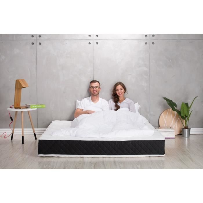 matelas freesia dream visco latex 140x190 achat vente. Black Bedroom Furniture Sets. Home Design Ideas