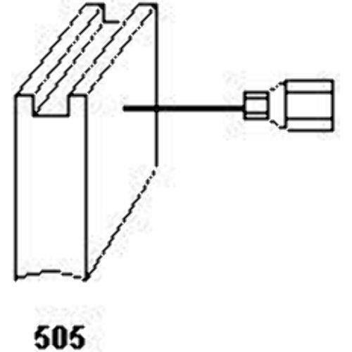 Balais de charbon 1821 pour outils /électroportatifs Metabo Avec arr/êt automatique 5x10x12,5 mm org.: 31603373 R/éf 316033730 /& 600531420