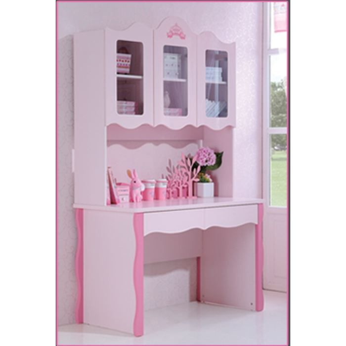 bureau chambre enfant princesse avec chaise achat. Black Bedroom Furniture Sets. Home Design Ideas