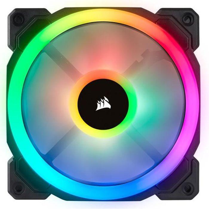 VENTILATION  CORSAIR Ventilateur LL120  RGB - Diamètre 120mm -