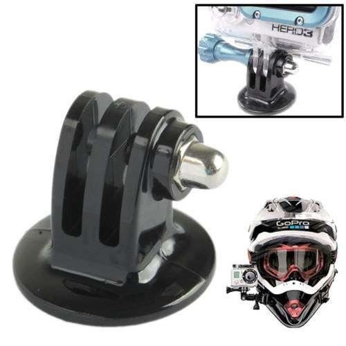 adaptateur fixation casque pour gopro hero 2 hero 3. Black Bedroom Furniture Sets. Home Design Ideas