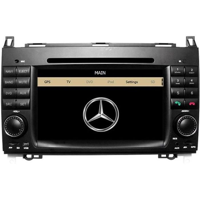 autoradio gps mercedes achat vente autoradio gps. Black Bedroom Furniture Sets. Home Design Ideas