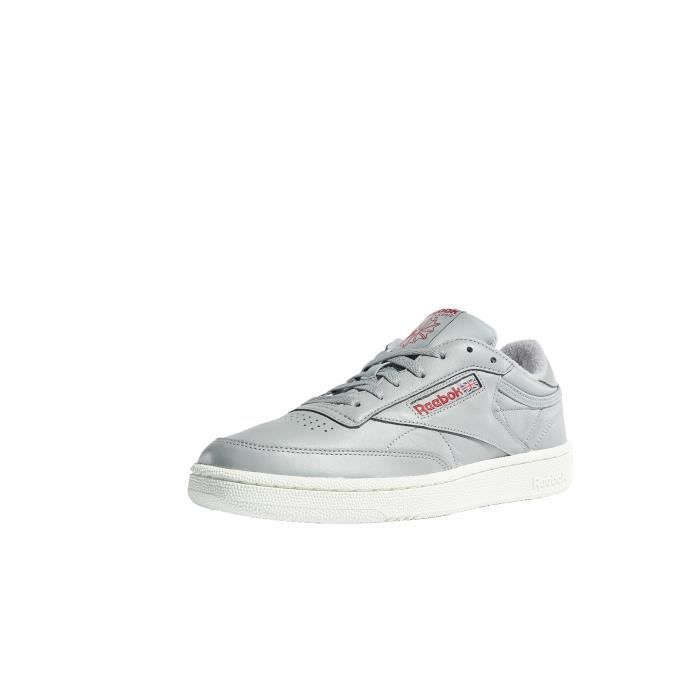 timeless design d7756 357d9 BASKET Reebok Homme Chaussures   Baskets Club C 85 Mu .