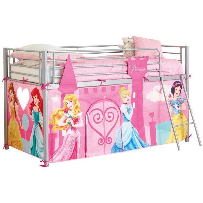 disney princesses habillage de lit mezzanine 190 x 90cm achat vente tente de lit princesses. Black Bedroom Furniture Sets. Home Design Ideas