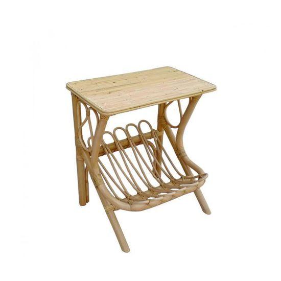 Main M/öbel Table de Chevet en /épic/éa 50 x 45 cm
