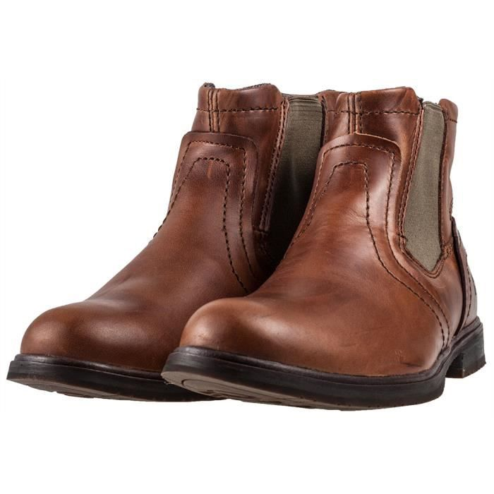 Caterpillar Armitage Sugar Hommes Bottes Chelsea marron - 9 UK