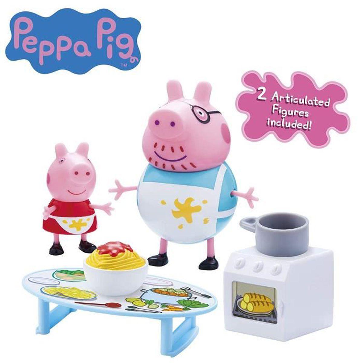 Peppa Pig Jeu De Cuisine Malpropre De Peppa Avec 2 Figurines Achat Vente Figurine Personnage Cdiscount