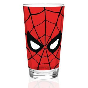 Verre à eau - Soda Verre Marvel: Spiderman