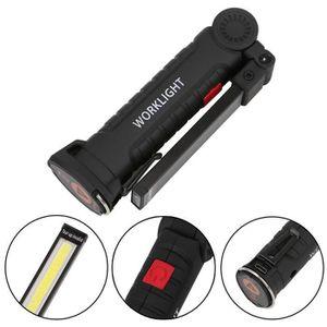 COB rechargeable LED lampe torche à main travail d/'inspection léger flexible