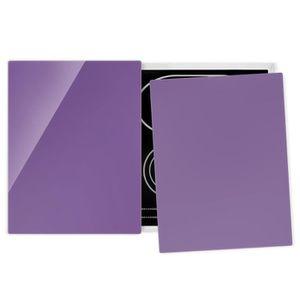 PLAQUE INDUCTION Couvre plaque de cuisson - Lilac - 52x80cm, proteg