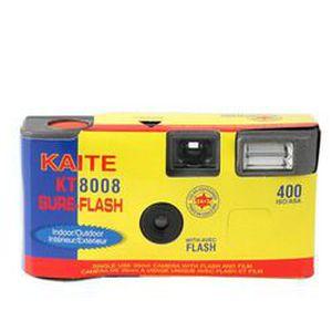 APPAREIL PHOTO ENFANT Appareil photo jetable couleur 27 poses + flash