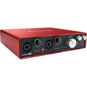 INTERFACE AUDIO - MIDI Focusrite Scarlett 6i6 2ème génération - Interface